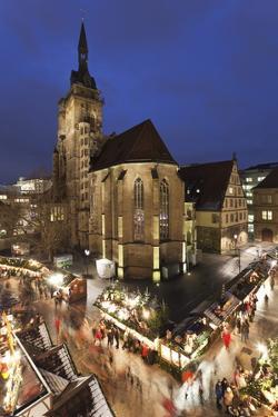 Christmas Fair on Schillerplatz Square by Markus Lange