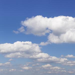 Cumulus Clouds, Blue Sky, Summer, Germany, Europe by Markus Lange