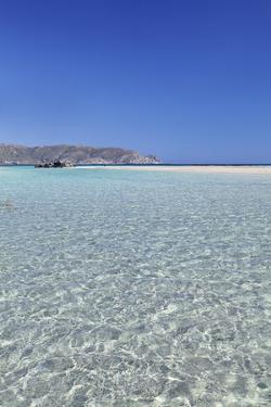 Elafonisi Beach, West Coast, Natural Park, Red Sand, Crete, Greek Islands, Greece, Europe by Markus Lange