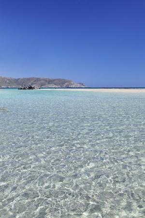 Elafonisi Beach, West Coast, Natural Park, Red Sand, Crete, Greek Islands, Greece, Europe by Markus Lange