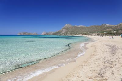 Falassarna Beach, Falassarna, Chania (Khania), Crete, Greek Islands, Greece, Europe by Markus Lange