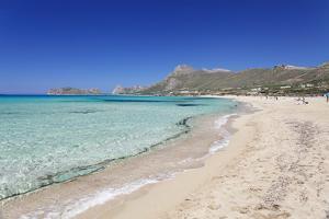 Falassarna Beach, Falassarna, Chania (Khania), Crete, Greek Islands, Greece, Europe by Markus Lange