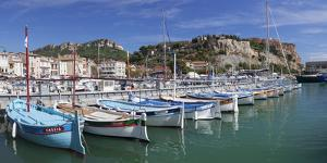Fishing Boats in the Harbour, Southern France by Markus Lange