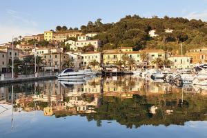 Harbour of Porto Azzurro, Island of Elba, Livorno Province, Tuscany, Italy by Markus Lange