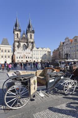Horse Carriage at the Old Town Square (Staromestske Namesti) by Markus Lange