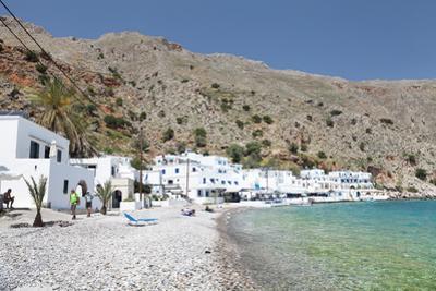 Local Beach, Loutro, South Crete, Crete, Greek Islands, Greece, Europe by Markus Lange