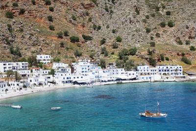 Loutro, South Crete, Crete, Greek Islands, Greece, Europe by Markus Lange