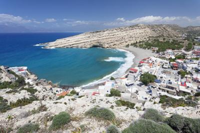 Matala Bay and Beach, Heraklion District, Crete, Greek Islands, Greece, Europe by Markus Lange