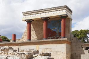 Minoan Palace, Palace of Knossos, North Entrance by Markus Lange
