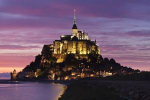 Mont Saint Michel at Sunset by Markus Lange