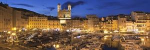 Old Town with Old Harbour and Jean Baptiste Church, Bastia, Corsica, France, Mediterranean, Europe by Markus Lange
