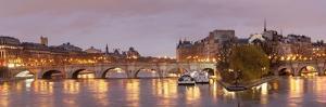 Pont Neuf Bridge and Ile De La Cite, Paris, Ile De France, France, Europe by Markus Lange