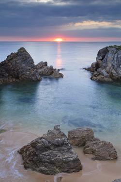 Quiberon Peninsula, Cote Sauvage, Cote De Morbihan, Brittany, France, Europe by Markus Lange