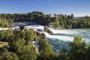 Rhine Falls (Rheinfall) Waterfalls by Markus Lange