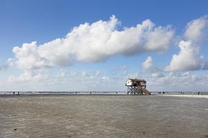 Stilt Houses on a Beach by Markus Lange