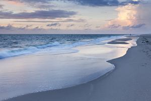 Sunset at the Beach of Kampen, Sylt Island, Schleswig Holstein, Germany, Europe by Markus Lange