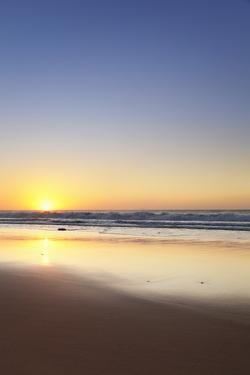 The Beach Playa Del Castillo at Sunset by Markus Lange