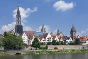 View over River Danube to the Old Town of Ulm by Markus Lange