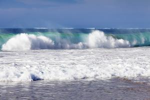 Waves at the Beach, Playa Del Castillo, El Cotillo by Markus Lange