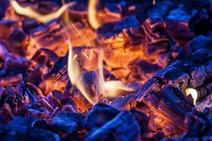 Glowing Grill Charcoal by Markus Leser