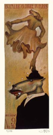 American Coyote in Paris No. 9 by Markus Pierson