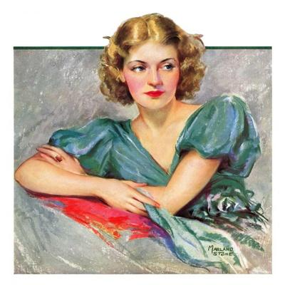 """""""Woman in Teal,""""March 11, 1933"""