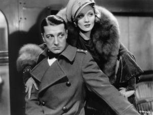 Marlène Dietrich and Clive Brook: Shanghai Express, 1932