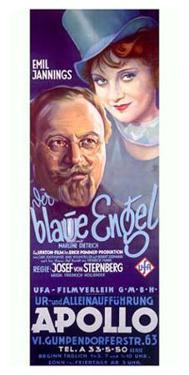Marlene Dietrich in Blue Angel