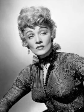 """Marlene Dietrich. """"Rancho Notorious"""" [1952], Directed by Fritz Lang."""