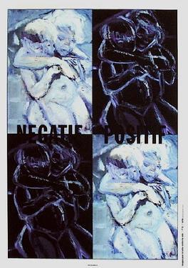 Négatif-positif by Marlene Dumas
