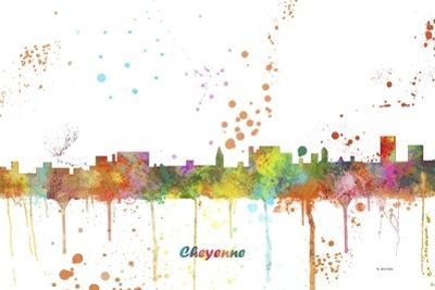 Cheyenne Wyoming Skyline by Marlene Watson