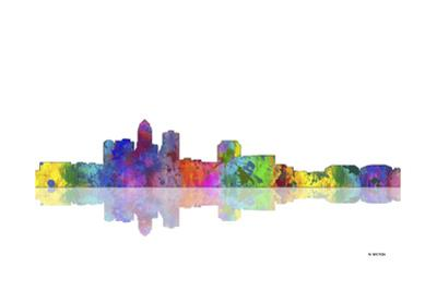Des Moines Iowa Skyline 1 by Marlene Watson