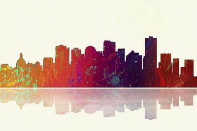 Edmonton Canada Skyline 1 by Marlene Watson
