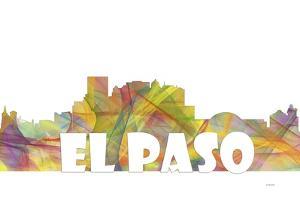 El Paso Texas Skyline Mclr 2 by Marlene Watson