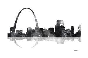 Gateway Arch St Louis Missouri Skyline BG 1 by Marlene Watson