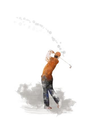 Golf Player 1 by Marlene Watson