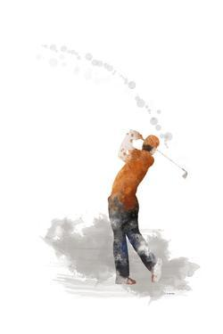 Golf Player 1 by Marlene Watson