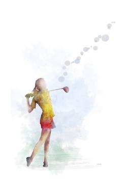 Golf Player 2 by Marlene Watson