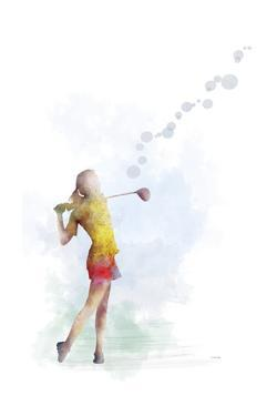 Golf Player 2 by Marlene Watson