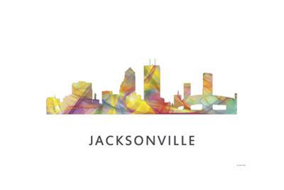 Jacksonville Florida Skyline by Marlene Watson