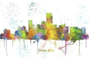 Jersey City New Jersey Skyline MCLR 1 by Marlene Watson
