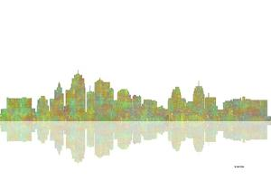 Kansas City Missouri Skyline 1 by Marlene Watson