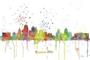 Kansas City Missouri Skyline MCLR 1 by Marlene Watson