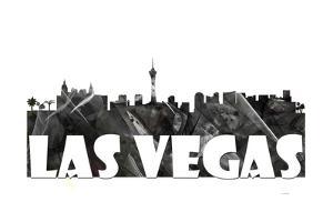 Las Vegas Nevada Skyline BG 2 by Marlene Watson