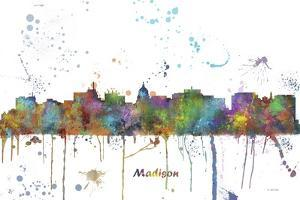 Madison Wisconsin Skyline MCLR 1 by Marlene Watson