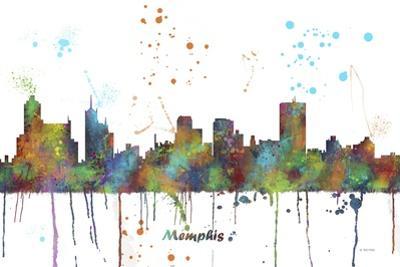 Memphis Tennessee Skyline MCLR 1 by Marlene Watson