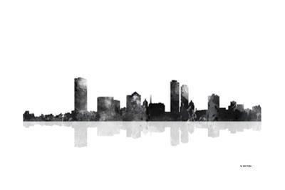 Milwaukee Wisconsin Skyline BG 1 by Marlene Watson