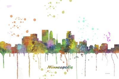 Minneapolis Minnesota Skyline MCLR 1 by Marlene Watson