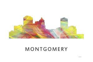Montgomery Alabama Skyline by Marlene Watson