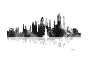 New York New York Skyline BG 1 by Marlene Watson
